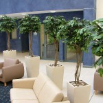 artificial artificial plant and flower installations 0008