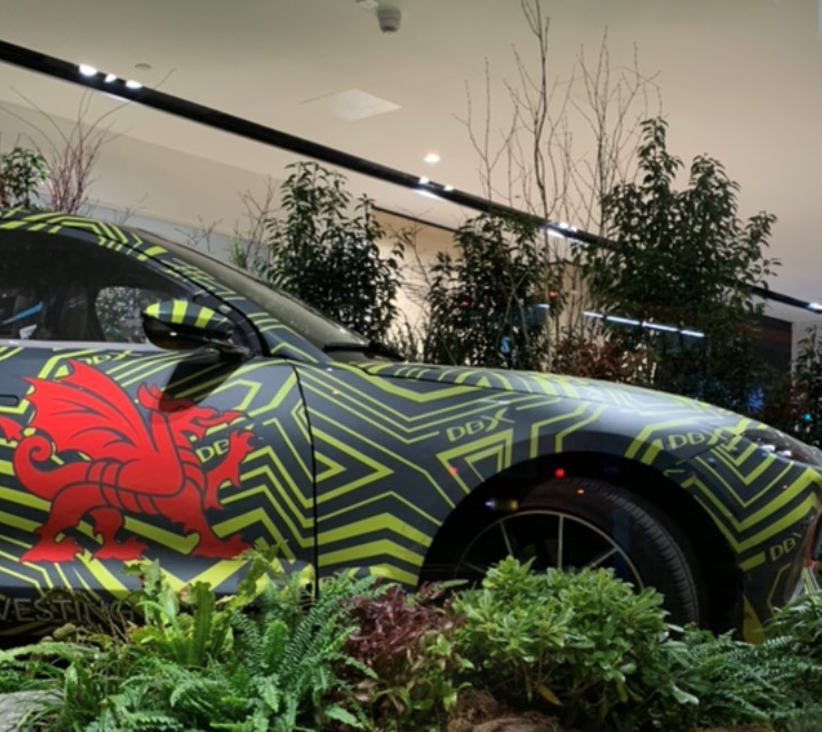 Aston Martin DBX SUV Launch Party with Superplants